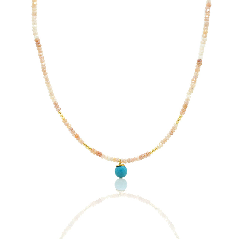 Moonstone and Turquoise