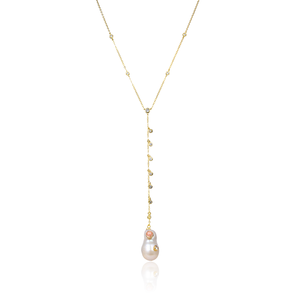Mother Pearl Lariat