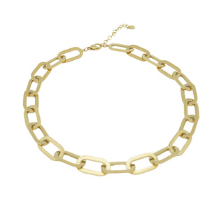 Big Oval Chain Choker