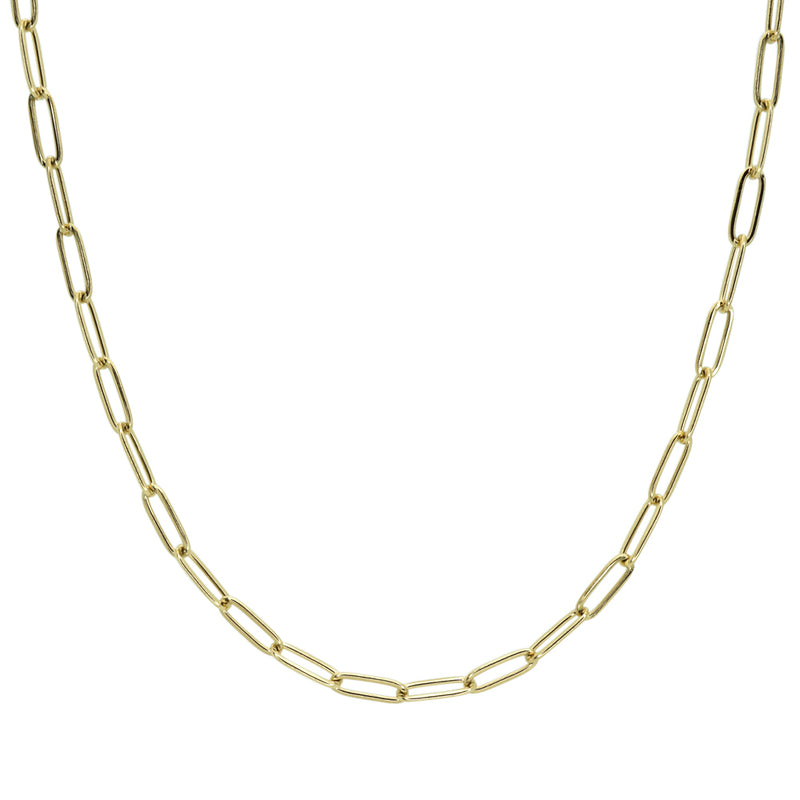 Small Paper Clip Necklace