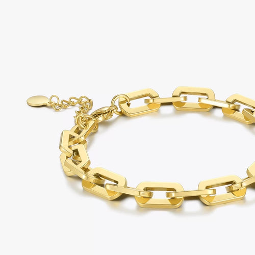 Rectangular Thick Bracelet