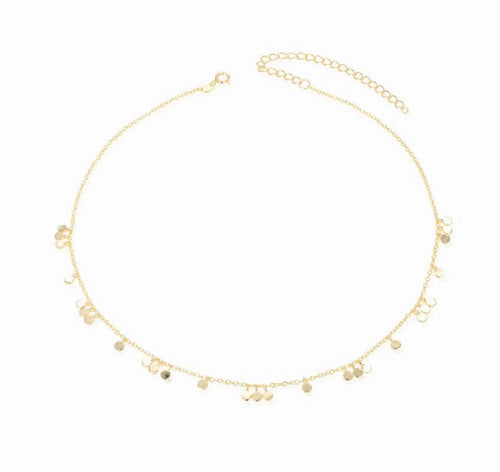 Mini Dots Gold Necklace