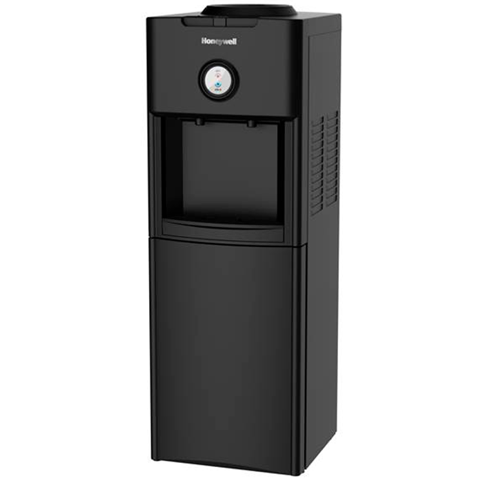 Top Loading Hot & Cold Water Dispenser, Black  Stainless Steel Tank