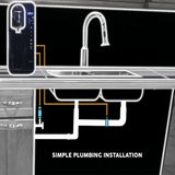 Table Top Hot, Room & Cold Water Purifier, Simple Plumbing installation