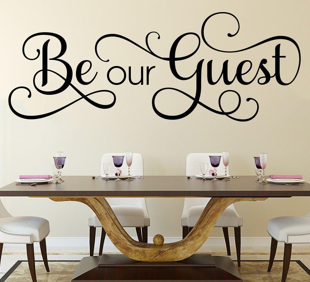 Be Our Guest Wall Art Sticker & Be Our Guest Wall Art Sticker u2013 Smarty Walls