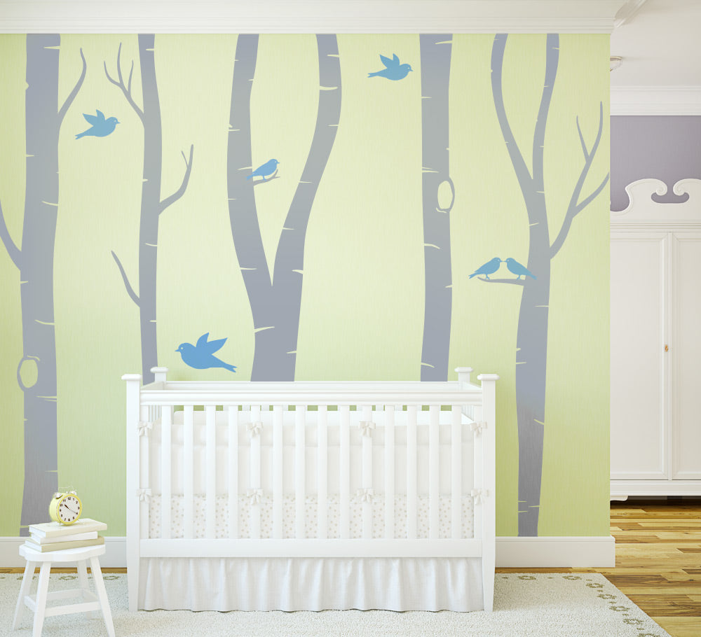 Birch Tree Wall Sticker Decals