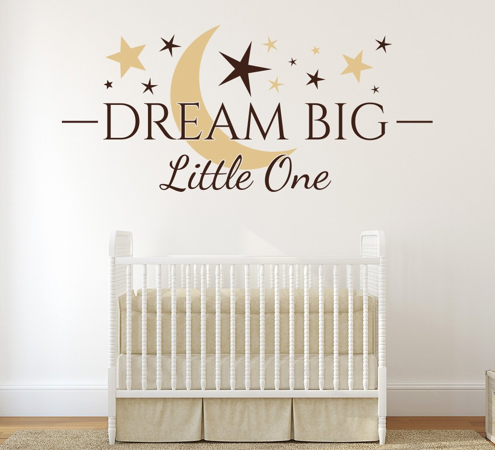 Dream Big Little One Wall Art Sticker
