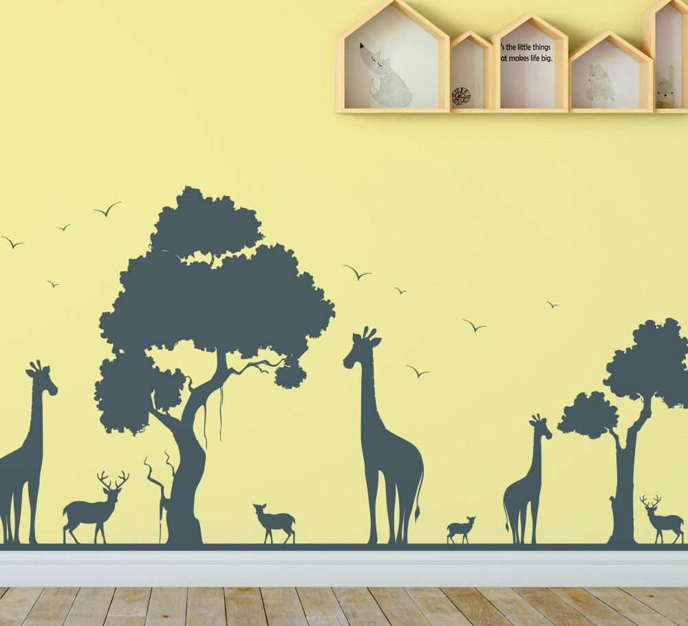 Kids wall art stickers personalised with their own names – Smarty Walls