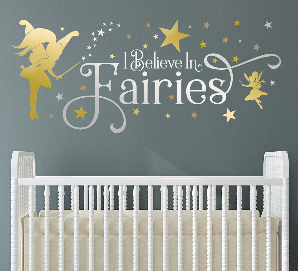 Believe In Fairies Wall Sticker Decal