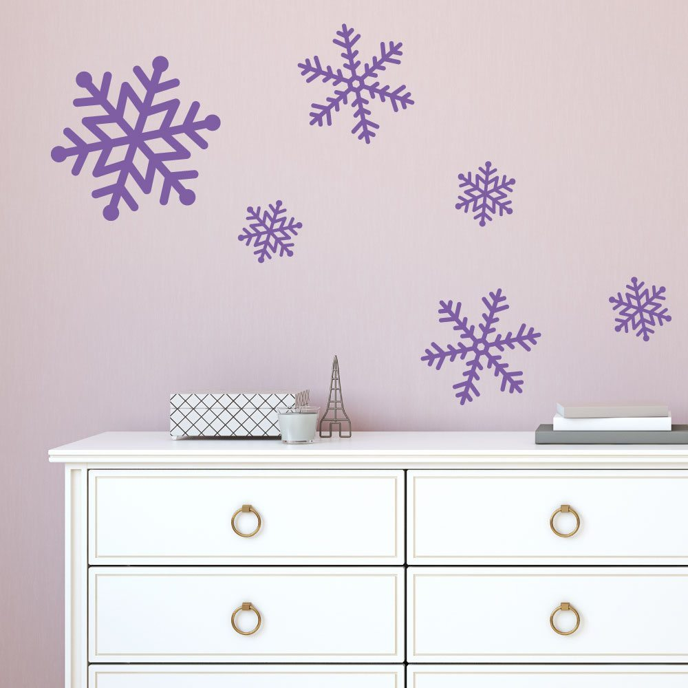 Snowflakes Christmas Wall Stickers