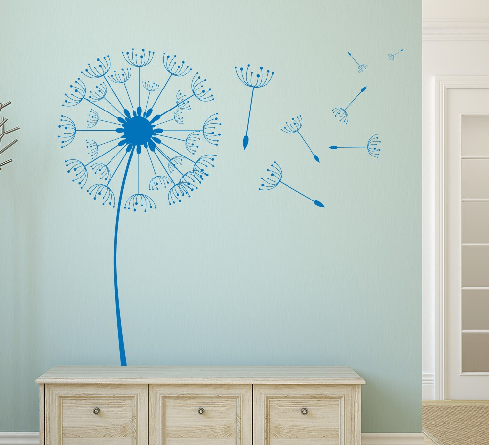 Dandelion Wall Art Sticker