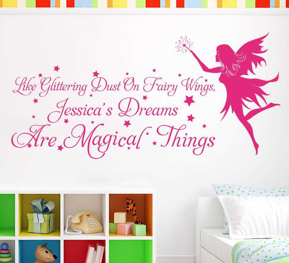 Fairy Wall Sticker Dreams Are Magical Things