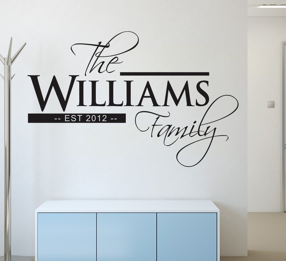 Family Established Wall Sticker