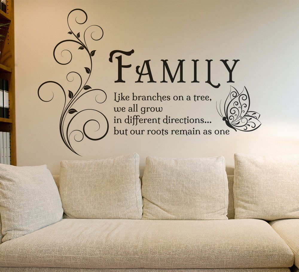 Family Tree Wall Art Sticker