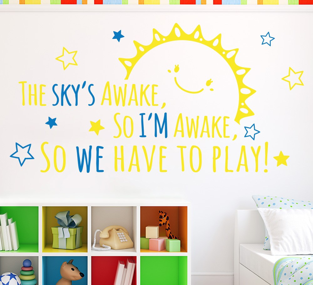 Frozen The Skys Awake Wall Art Sticker – Smarty Walls