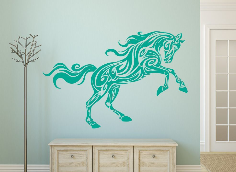 Elegant Horse Wall Art Sticker
