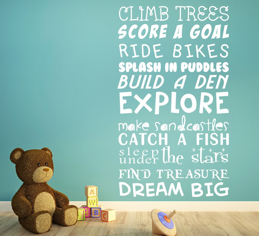 Its a Kids Life Personalised Wall Sticker