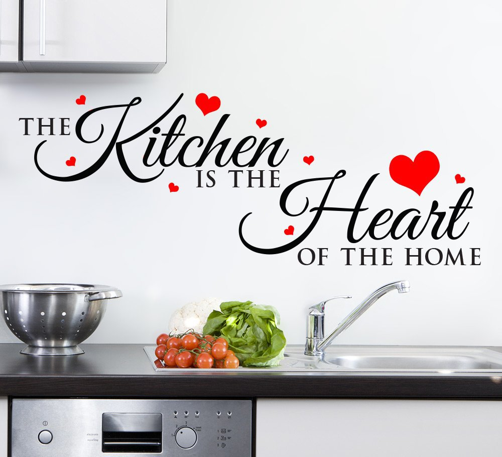 Kitchen Is The Heart Of The Home Wall Sticker Smarty Walls