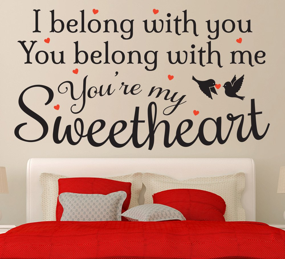 The Lumineers Ho Hey Lyrics Wall Art Sticker