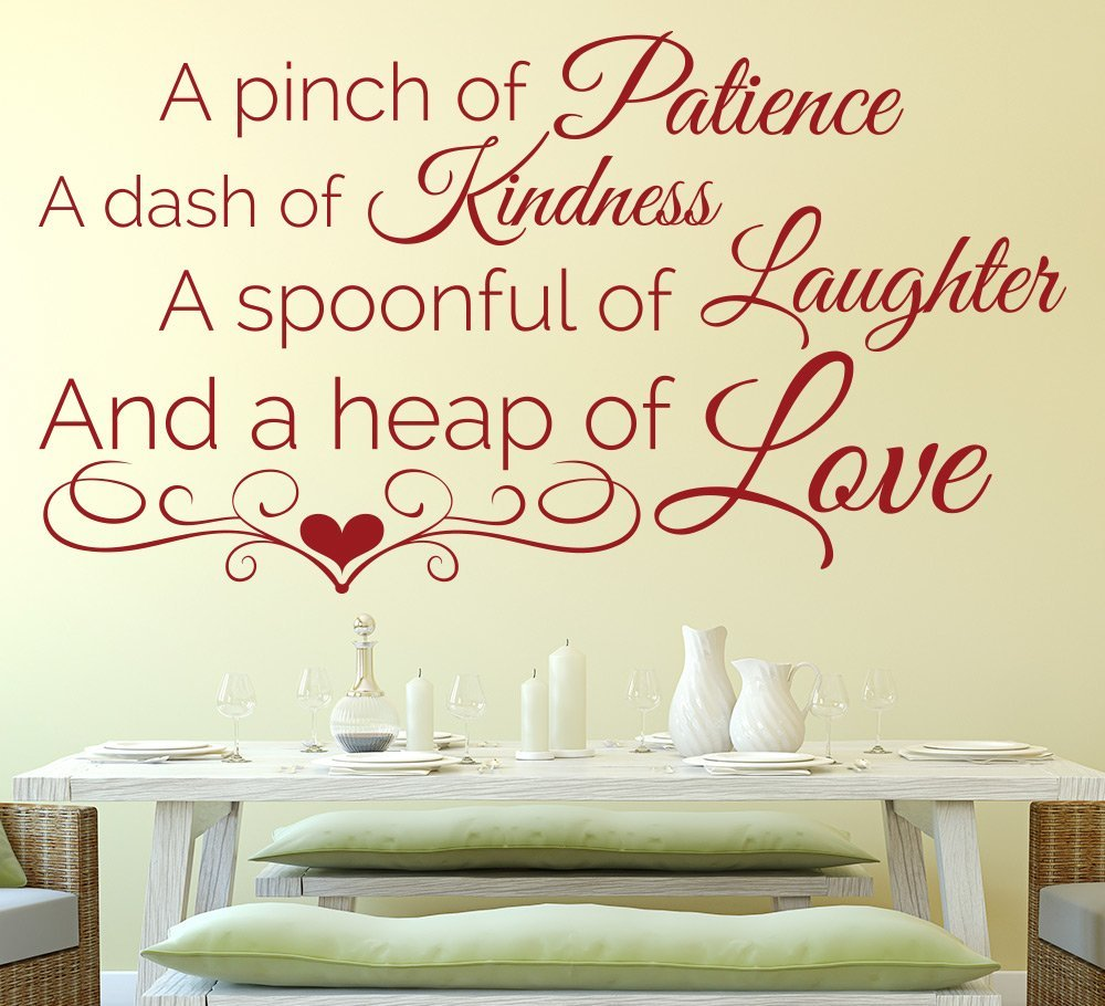 Secret Recipe Kitchen Wall Art Sticker