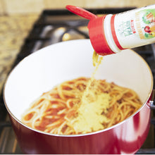 Add EasyPeasie Turmeric Blend to a pot of spaghetti for an easy veggie hack