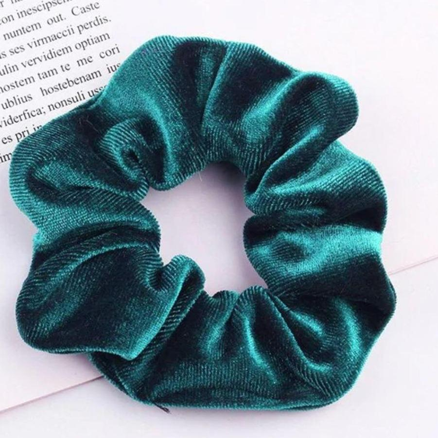 Ocean Velvet Scrunchie - Large