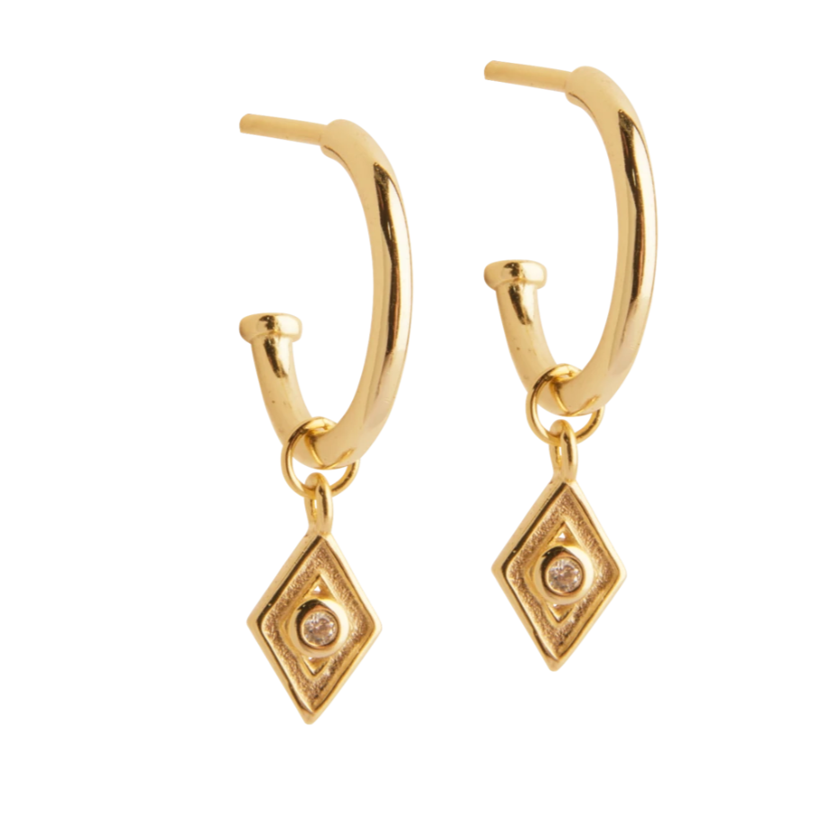 Lion Wild - Diamond Earrings