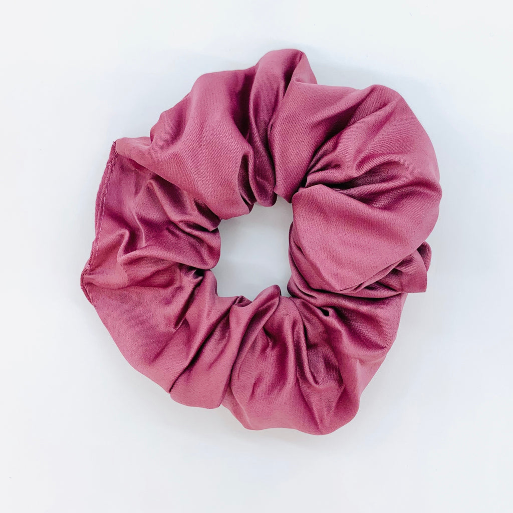 Violet Sleep Satin Scrunchie
