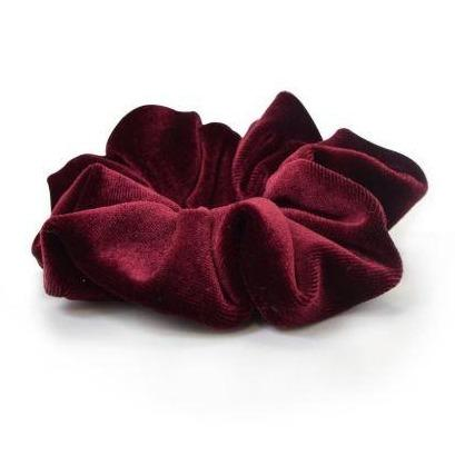 Red Velvet Scrunchie - Large