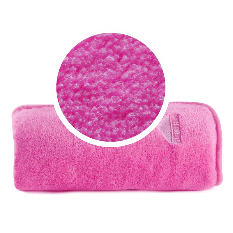 BlueHills Premium Soft Travel blanket pillow - Pink