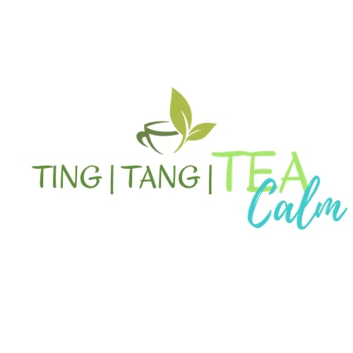Ting Tang Tea Calm Logo, Calm Tea, Sleep Tea, Tea For Anxiety, Tea For Insomnia