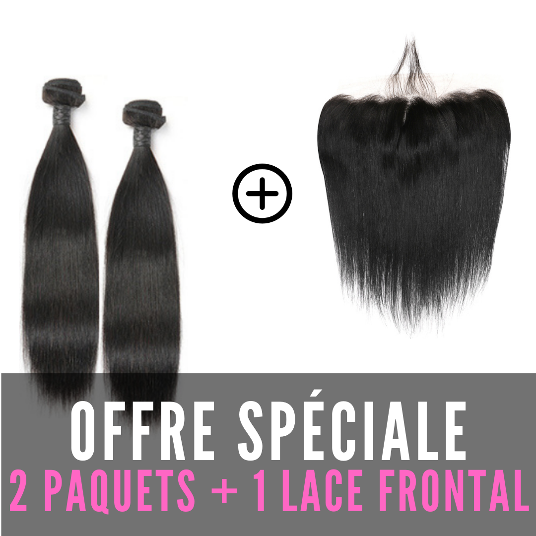 TISSAGES & LACE FRONTAL - LISSE