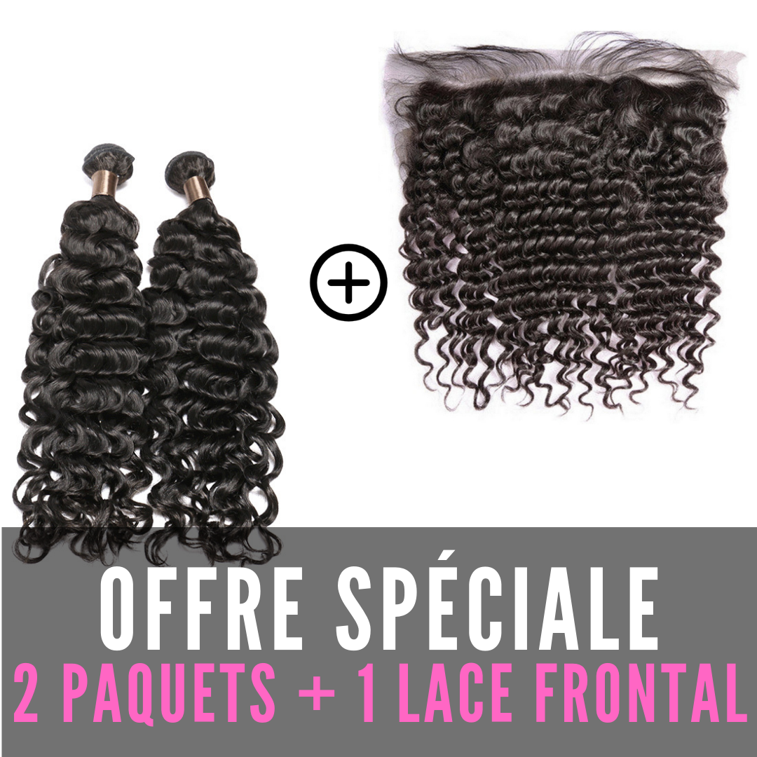 TISSAGES & LACE FRONTAL - BOUCLÉ
