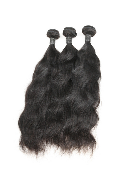 FULL SET 3 PAQUETS BRÉSILIENS REMY NATURAL WAVE 100% CHEVEUX NATUREL + CLOSURE  4X4 FREE STYLE
