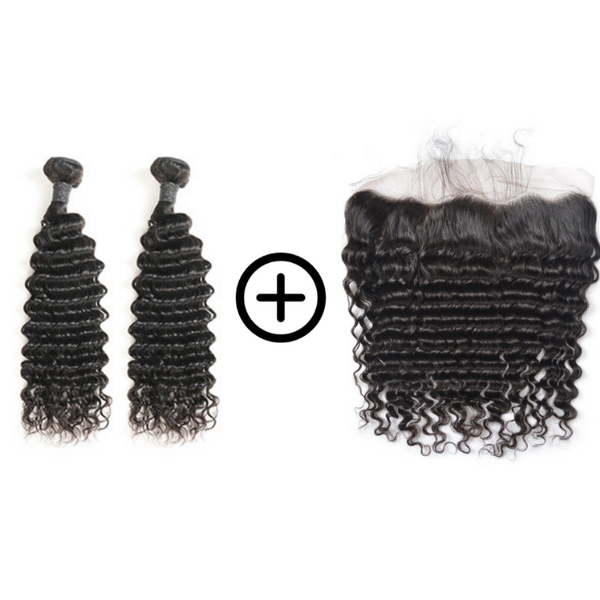 TISSAGES & LACE FRONTAL - BOUCLES MOYENNES
