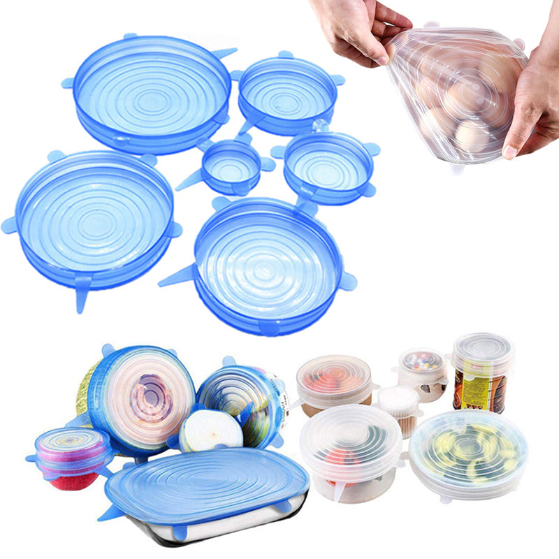 Silicone Stretch Lid Set
