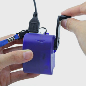 Emergency Hand Crank Phone Charger