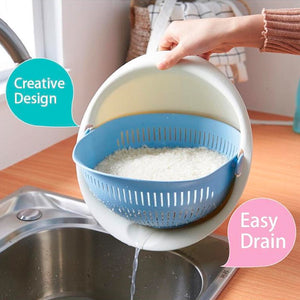 2 In 1 Vegetable Drain Basket