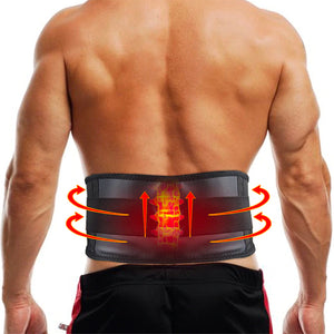 Self-Heating Lumbar Brace