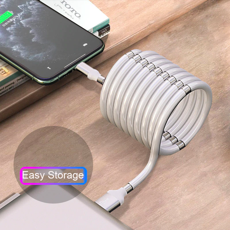 Self-Organizing Charger Cable