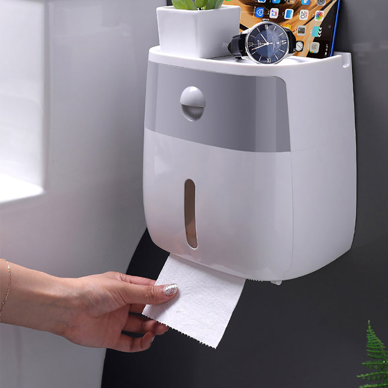 3 In 1 Toilet Paper Holder