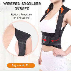 Self-Heating Therapy Brace