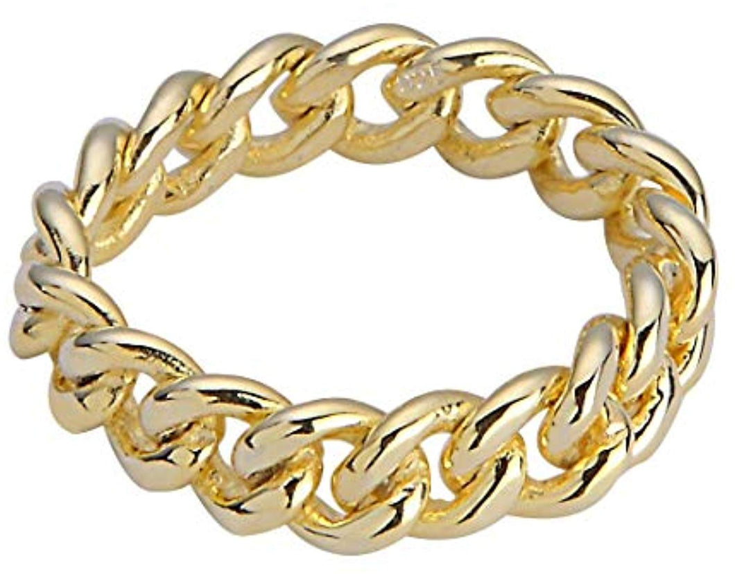Eternally Linked Ring - Yellow Gold