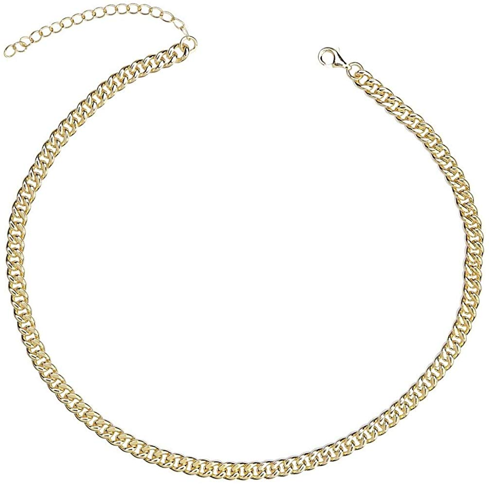 Eternally Linked Choker - Yellow Gold