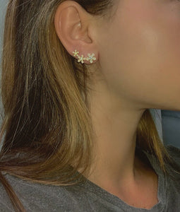 Daisy Crawler Earrings