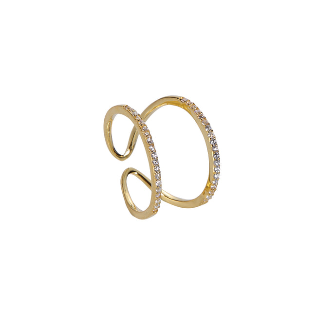 Horseshoe Ring - Yellow Gold