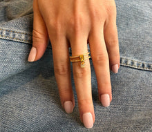 Love Locket Ring - Yellow Gold Lifestyle Photo