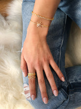 Classic Pavé Band - Yellow Gold Lifestyle Photo