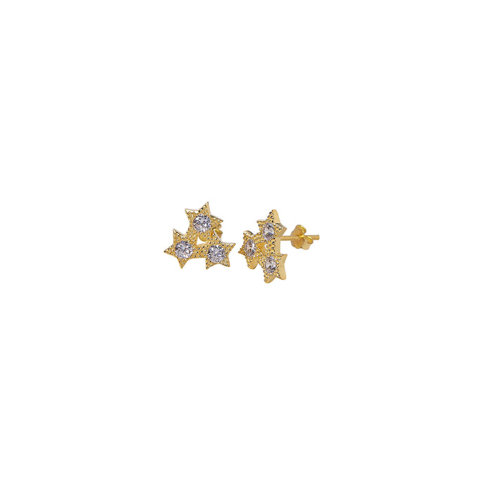 Constellation Earrings - Yellow Gold