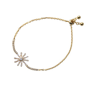 Starburst Bracelet - Yellow Gold
